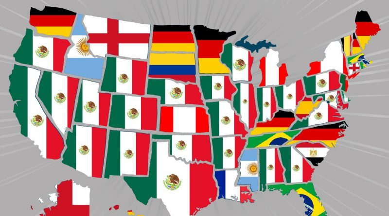 Top selling World Cup jerseys by US state (2018)