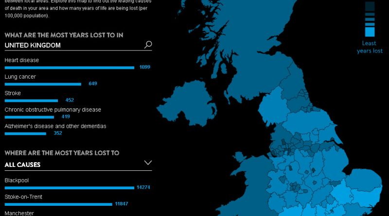 UK: Mapping Health Inequality