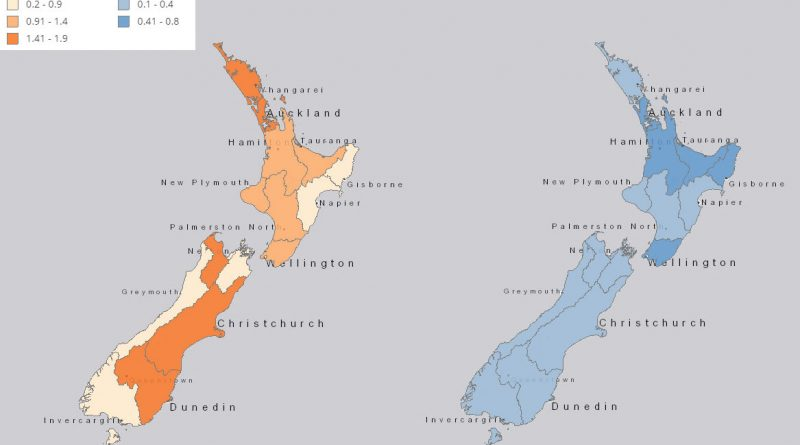 Mapping New Zealand Population Growth