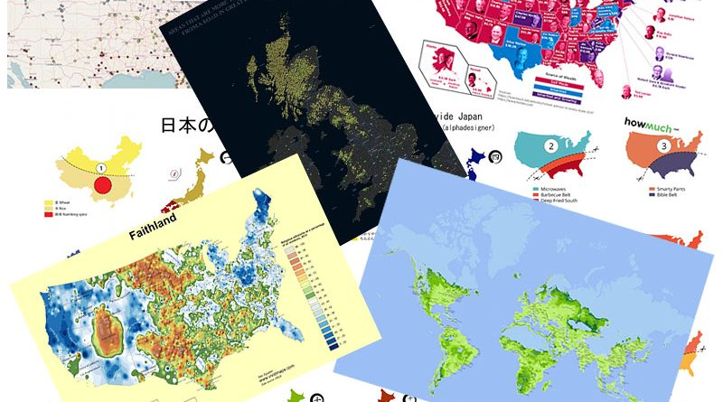 20 Best Maps of 2018