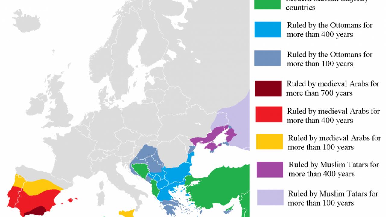 Map muslim countries 28 Islam
