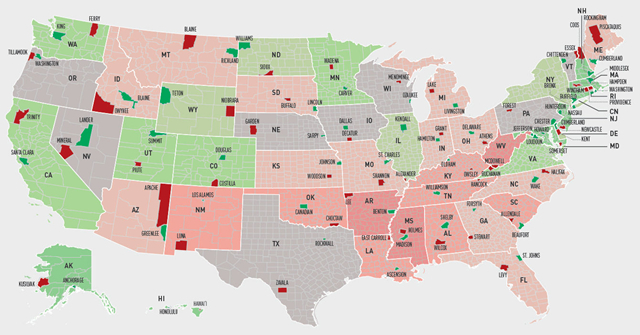 wealthiest and pooriest U.S counties