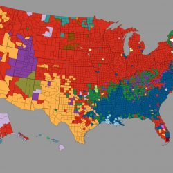 Largest Ancestry by U.S. County