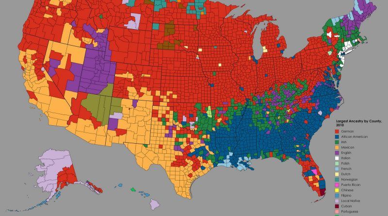 Largest Ancestry in the United States