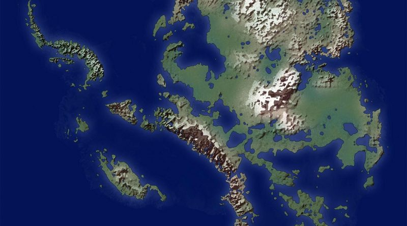 Antarctica without ice