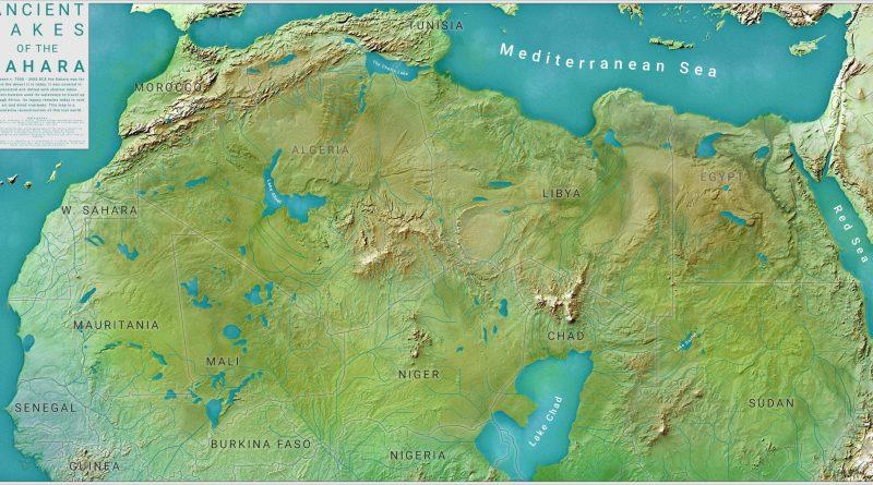 Lakes in Sahara