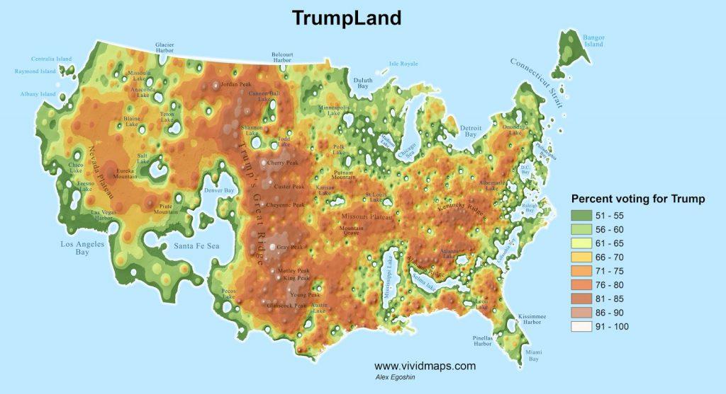Map of Trumpland