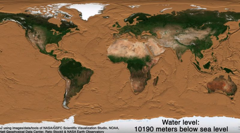 Earth without water
