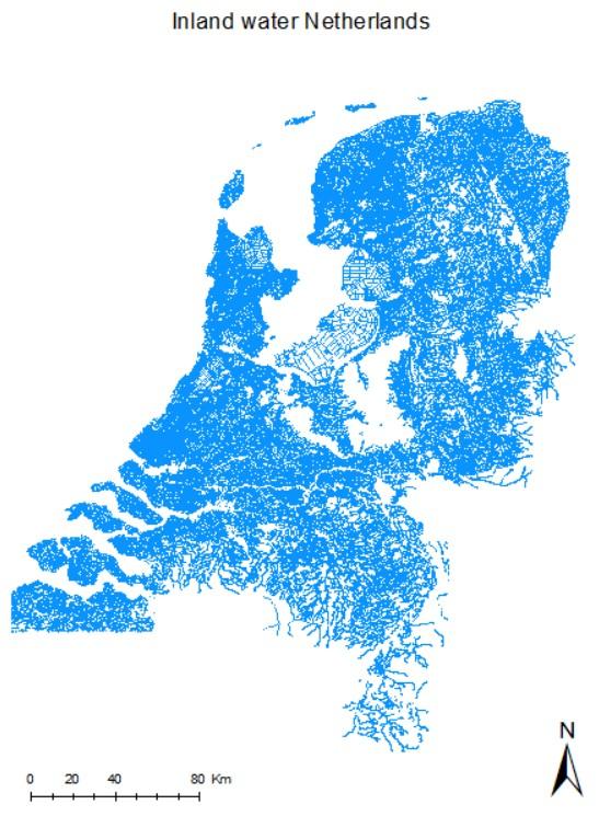 Inland water Netherlands