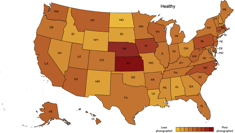 Healthy food in the Unitied States