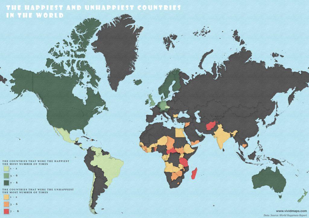 Самые счастливые страны