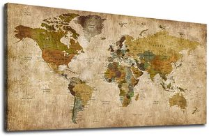 Antique map of the world