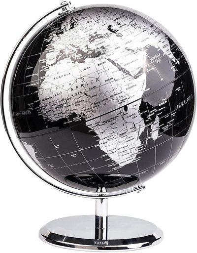 Metallic World Globe