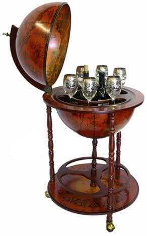 XVIth-Century Italian Replica Old World Globe Bar
