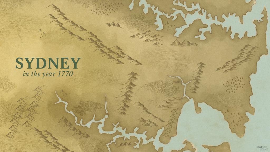 James Cook's landing at Botany Bay