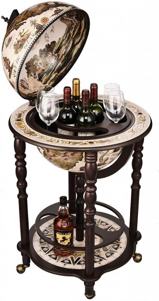 Sixteenth-Century Globe Bar Wine Holder