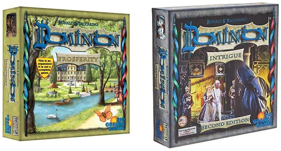 Rio Grande Games Dominion Prosperity & Dominion board games