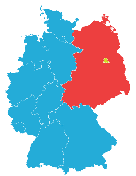 East and West Germany