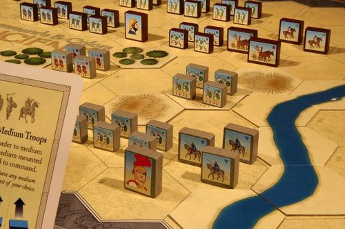 Map-based board wargame Command and Colors: Ancients