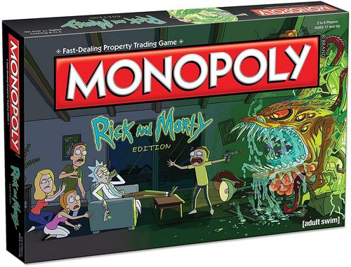 Monopoly Game: Rick and Morty edition