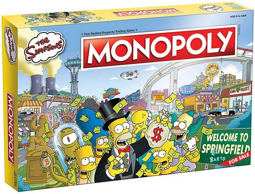 Monopoly game Simpson edition