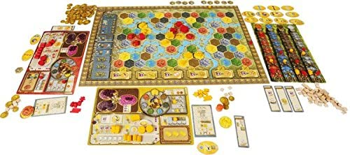 Terra Mystica Map Based Board Game