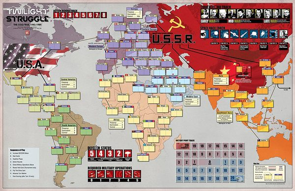Twilight Struggle the Cold War Strategic Board Game