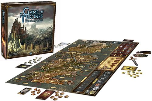 Strategic board Game of Thrones