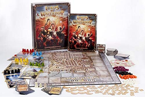 Strategic board game Lords of Waterdeep