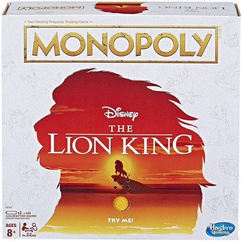 Monopoly: The Lion King Edition Family