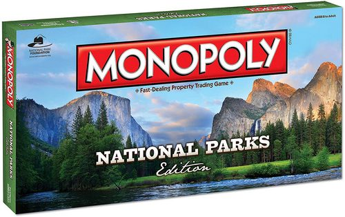 Themed National Park Monopoly Board Game