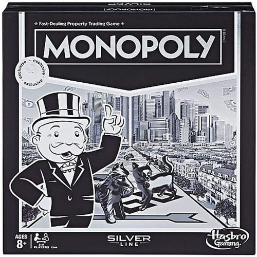 Silver Line Exclusive Monopoly Board Game