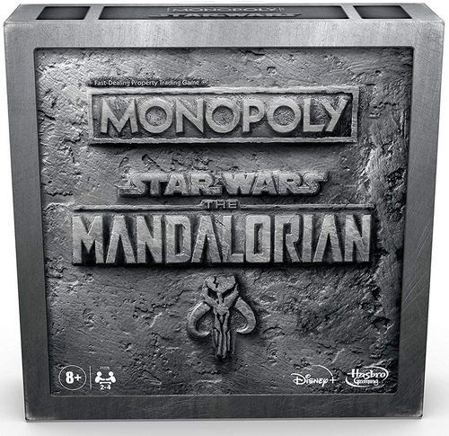 Monopoly Game Edition: Star Wars The Mandalorian