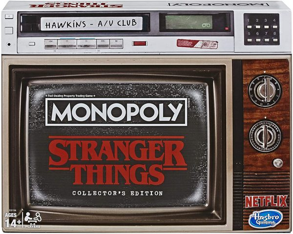 Monopoly Game Stranger Things