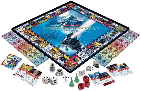 Board Game The Polar Express Train