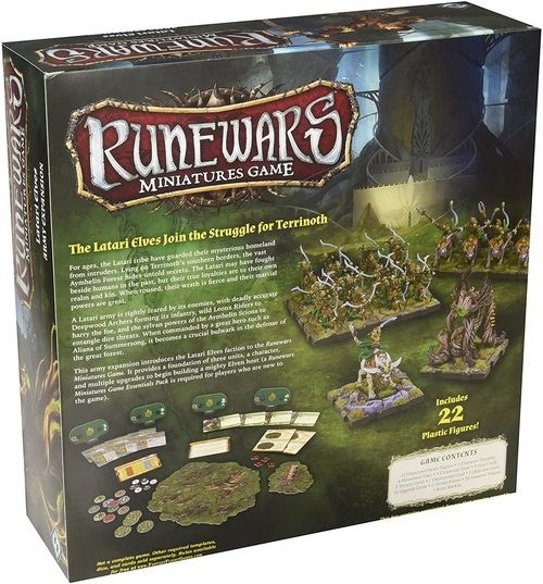 Map bases strategic board game Runewars