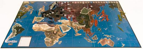 Axis and Allies strategic board game