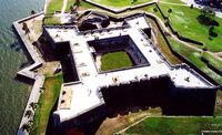 The oldest fortress in the United States