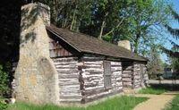 Louis Arriandeaux Log House