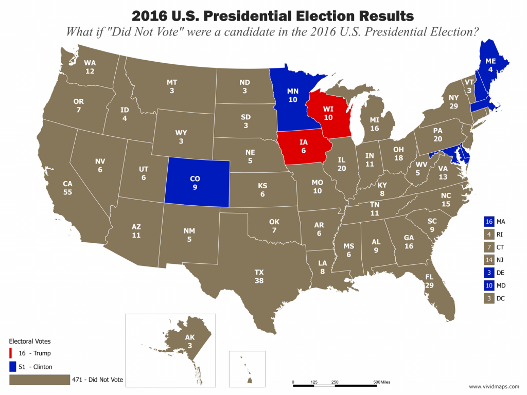 """If """"Did Not Vote"""" Had Been A Candidate"""