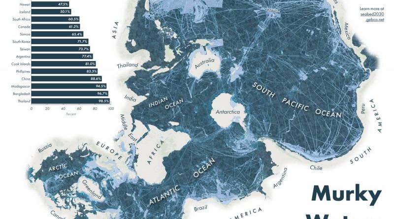 Ocean floor mapped
