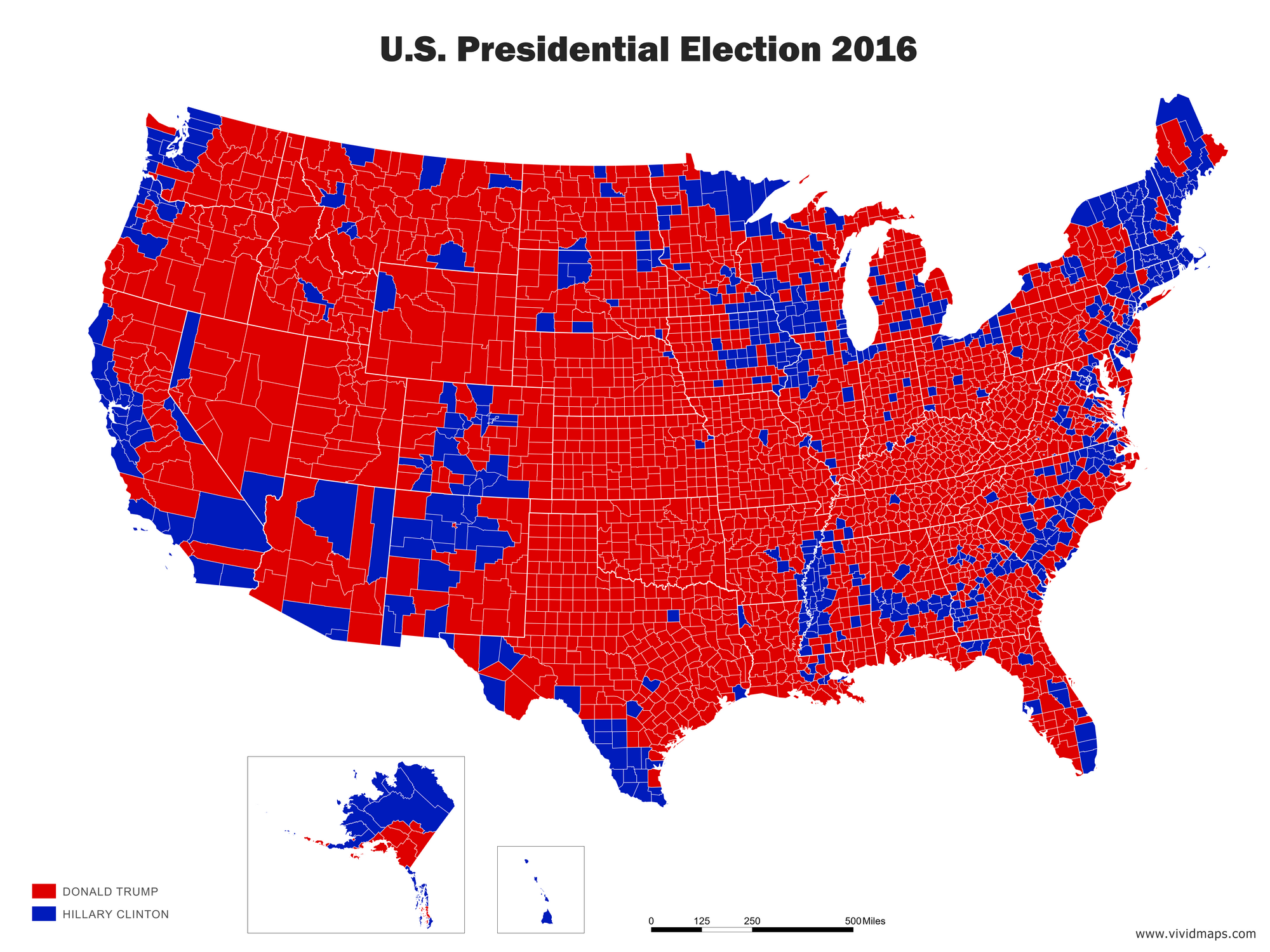 US election results 2016