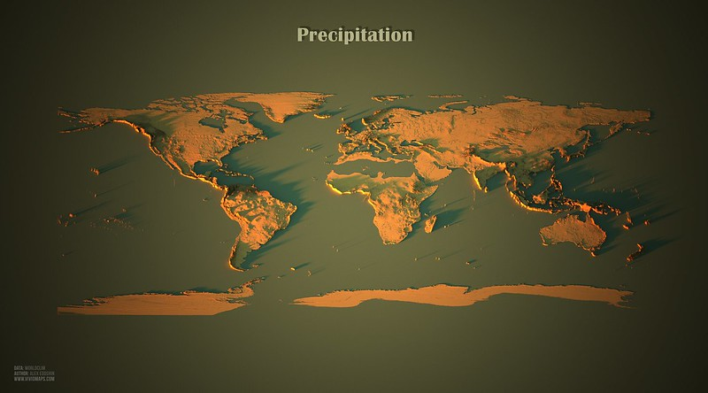 Precipitation in the World