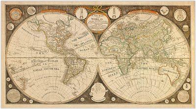 Captain Cook 1799 Vintage Map Poster