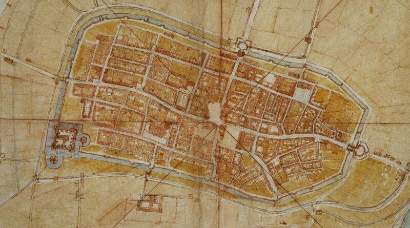 Map of Italian Imola