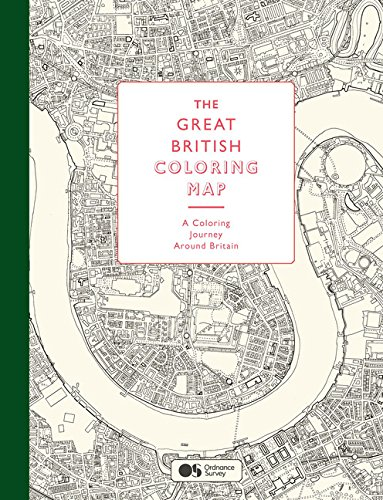 The Great British Coloring Map