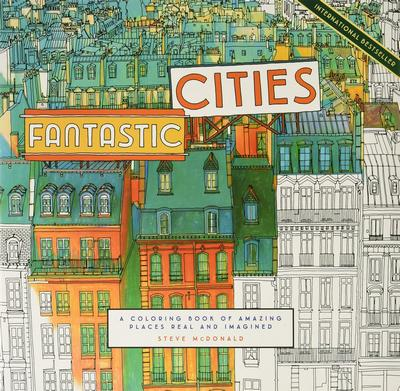 A Coloring Book of Fantastic Cities