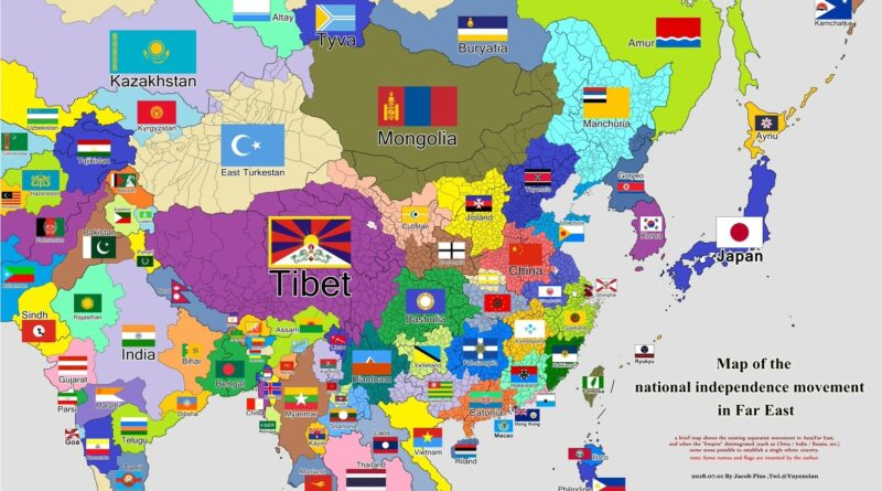 Independence movement in Asia