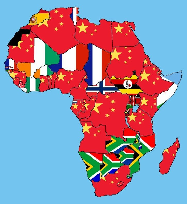 Top import partners of African countries mapped