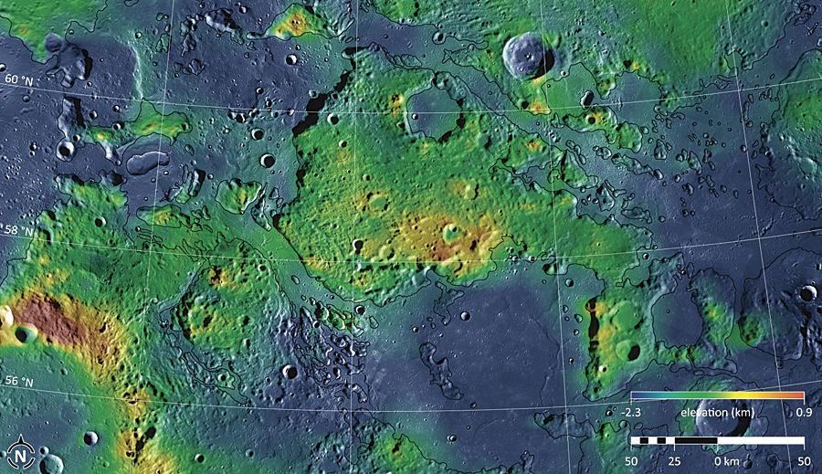 Channels on Mercury mapped